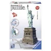 Statue of Liberty 108 pc 3D Building Puzzle