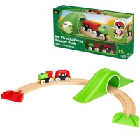 Brio My First Railway Starter Pack 9 pc Toddler Train Set