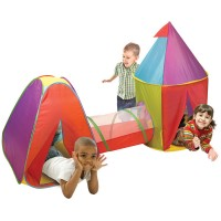 Adventure 2 Tents & Tunnel Play Set