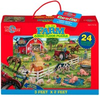 Farm 24 pc Jumbo Floor Puzzle