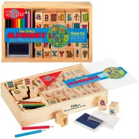 The Artsy Alphabet Stamp Set