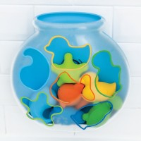 Sort & Spin Fishbowl Shape Sorter Bath Toy