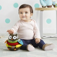 Explore & More Rocking Owl Stacker Sensory Toy