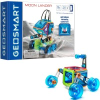 GeoSmart RC Moon Lander Vehicle Magnetic Building Set