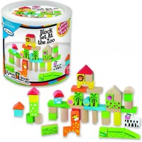 At the Zoo 50 pc Building Blocks Set