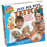 Boys Tattoos Craft Kit