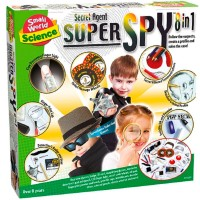 Secret Agent Super Spy 8 in 1 Forensic Science Kit