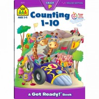 Counting 1-10 64 Pages Preschool Activity Workbook