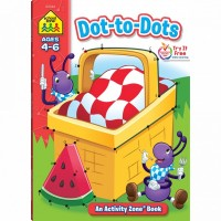 Dot-to-Dots 64 Pages Activity Workbook