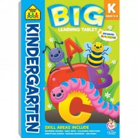 Kindergarten Big Learning Tablet 240 Pages Activity Pad