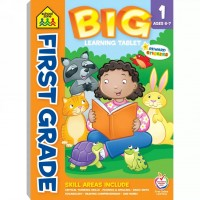 First Grade Big Learning Tablet 240 Pages Activity Pad
