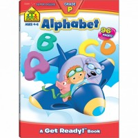 Alphabet Preschool 96 Pages Super Deluxe Workbook