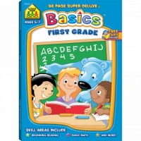 1st Grade Basics 96 Pages Super Deluxe Workbook