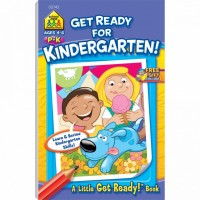 Get Ready for Kindergarten 48 Pages Activity Workbook
