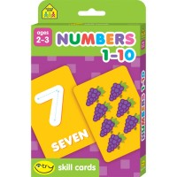 Numbers 1-10 I Try Skill Flash Cards