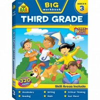Big 3rd Grade Workbook - 320 pages