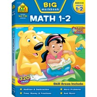 Big Math 1-2 Grades 320 Pages Workbook