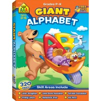 Giant Alphabet 320 Pages Activity Workbook