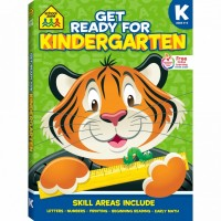 Get Ready for Kindergarten 256 Pages Activity Workbook