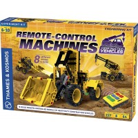 Remote Control Machines Construction Vehicles Building Science Kit