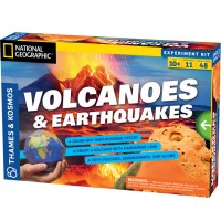 Volcanoes & Earthquakes Kids Science Kit