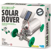 Solar Rover Robot Building Green Science Kit