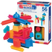 Bristle Blocks Basic Builder Box 56 pc Building Set