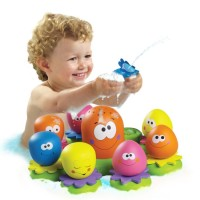 Octopal Squirters Water Pouring Bath Toy
