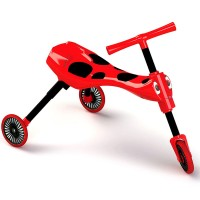 Scuttle Bug Toddler Folding Tricycle - Red Ladybug