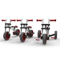 YBIKE Evolve 3 in 1 Conversion Bike Set - Red