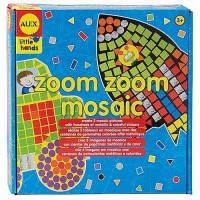Zoom Zoom Vehicles Mosaic Craft Set