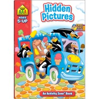 Hidden Pictures Activity Book - 64 Pages