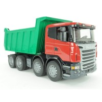 Bruder Scania R Series Deluxe Dump Truck Toy