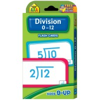 Division 0-12 Problem Solving Flash Cards