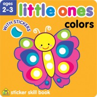 Little Ones Colors Toddler Sticker Activity Book