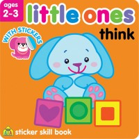 Little Ones Think Toddler Sticker Activity Book