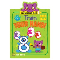 Train Your Hand Numbers Handwriting Activity Book