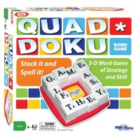 Quad Doku Strategy Word Game