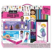 Fashion Design Light Box Travel Super Set for Girls