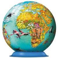 Globe Puzzleball 108 pc 3D Puzzle