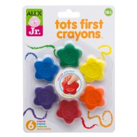Tots First Crayons 6 Colors Set