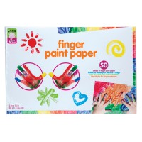Tots Finger Paint Paper 50 Sheet Set
