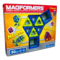 Magformers Classic 30 pc Magnetic Building Set