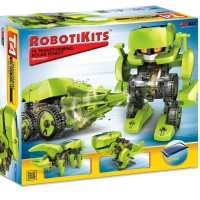 T4 Transforming Solar Robot 4 Models Building Set