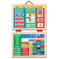 Magnetic Daily Calendar Learning Activity Set