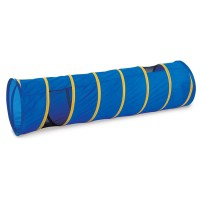 See Me 6 ft Kids Play Tunnel - Blue