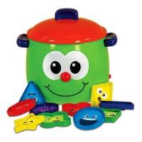Shape Sorter Fun Pot Electronic Learning Toy