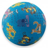 Jungle 123 Numbers 5 inch Play Ball for Kids