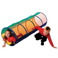 Peek a Boo Play Tunnel with Mesh Top