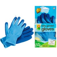 Kids Blue Gardening Gloves
